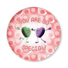you are special plates you are so special personalized childrens valentines day plate