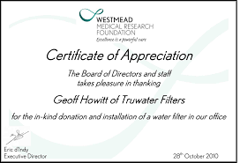 tru water service appreciation and awards best house water