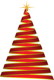 christmas tree ribbon free vector graphic christmas tree ribbon free image on