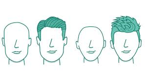 head shapes and hairstyles men s hairstyles pick a style for your face shape