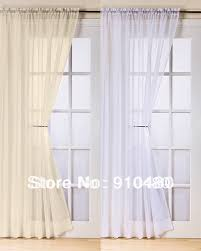Curtain Rods French Doors Curtain Length For French Doors Decorate The House With