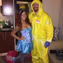 halloween costumes for 2014 homemade walter white and blue
