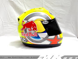 motocross helmet red bull arai rx7 gp