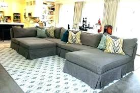 slipcover for sectional sofa marvelous slipcover for with chaise 2 recliners lounge covers