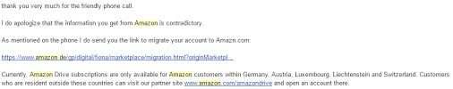 amazon germany warning amazon de if you are not from germany austria rclone forum