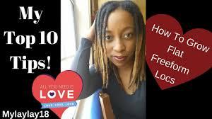 freeform dreadlocks my top 10 tips on how to grow flat freeform