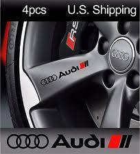 audi decals 4 audi stickers decals wheels rims door handle mirror sport a6 s7