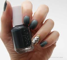 essie fall and winter collection ombre nail art nail that accent