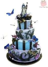 corpse bride wedding cake halloween cakes