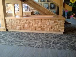 Plywood Reception Desk Planter And Reception Desk