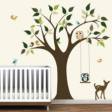 Tree Decals Nursery Wall by Butterfly Background For Bedroom Walls Waplag Beautiful Wall