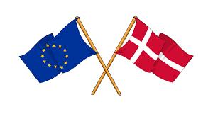 Dansk Flag Danmark Får Europaskole Gymnasieskolen