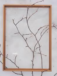 twig home decor 61cm gold glitter twig tree 60cm arafen