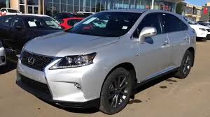 silver lexus new silver on black 2015 lexus rx 350 awd f sport package review