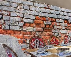 Papier Peint Briques Rouges by Online Get Cheap Murs De Briques Rouges Aliexpress Com Alibaba