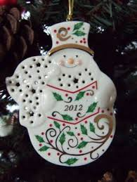 Lenox Christmas Ornaments 2013 by Lenox 2009 Holiday Pierced Series Ornament