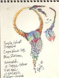 sketching beading designs examples and ideas from readers