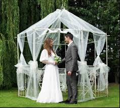 wedding arch gazebo for sale gazebo wedding arch tulle decorations with garden roses for sale