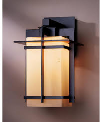 Motion Activated Outdoor Wall Light Decorations Hubbardton Forge 306008 Tourou 1 Light Outdoor Wall
