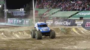 monster truck backflip videos lee o u0027donnell and mad scientist complete front flip at monster jam