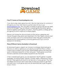 free games games download download free games play free