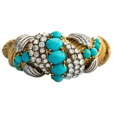 vintage bangle bracelet images 1950s 7 day 18 karat yellow gold bangle bracelet for sale at 1stdibs jpg