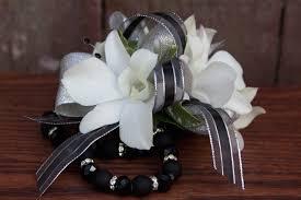 white orchid corsage a black tie affair wrist corsage ludemas