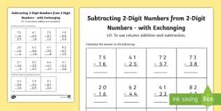 ks2 subtraction primary resources subtraction ks2 page 1
