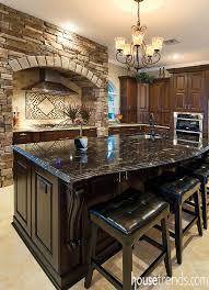granite islands kitchen kitchen island topped with black titanium granite housetrends