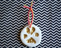 on a whim diy paw fect paw print ornament