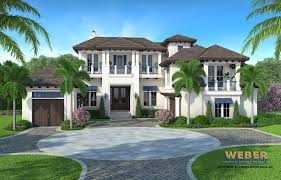waterfront house plans luxury home lake or elevated fantastic