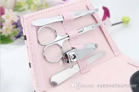 manicure set favors pink polka dot purse manicure set favor wedding party bridal