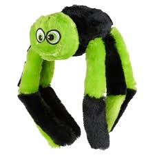armitage goodboy halloween soft plush scary spider dog toy feedem