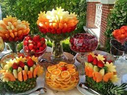 fruit table display ideas superbe gala food and ideas pinterest buffet food and