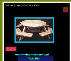 Picnic Table Plans Free Online by Picnic Table Plans Octagon 153415 Woodworking Plans And Projects