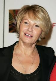 asymmetrical short haircuts for women over 50 short haircut for mature women over 50 ellen barkin s short