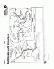 earthquakes and volcanoes teachervision