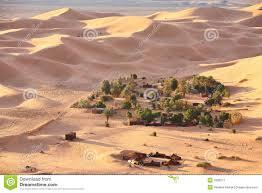 Oasis Map Sahara Oasis Map