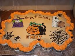 halloween birthday cupcake cake cakecentral com