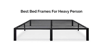 top 10 best bed frames for heavy person reviews 2017 carenician