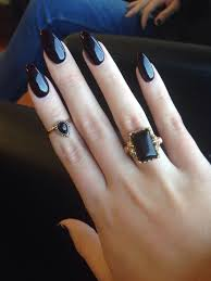 best 20 black acrylic nails ideas on pinterest dark acrylic