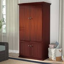 Computer Armoire Desk Cabinet Desk Armoires You Ll Wayfair