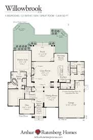 Arthur Rutenberg Homes Floor Plans Willowbrook 1133 Classic Plan Collection