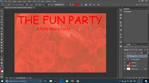 How To Create A Invitation Card How To Make A Invitation Card Adobe Photoshop Cc Youtube