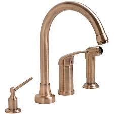 fontaine kitchen faucet fontaine antique copper 4 hole kitchen faucet free shipping