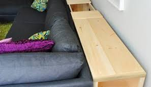Behind Sofa Bookcase How To Build A Console Table It U0027s Done Young House Love