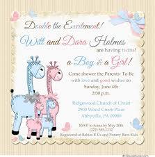 baby shower invitations for bright giraffe baby shower invitations yellow chevron