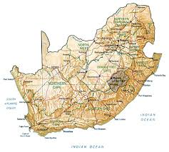 Map Of Cape Town South Africa by Map Of South Africa By Phonebook Of South Africa Com