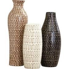 Large Wicker Vases Modern Vases Allmodern