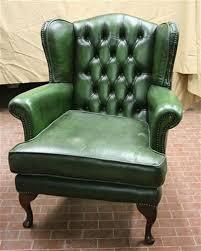 poltrona in pelle vintage divani e poltrone poltrona da lettura vintage in pelle verde